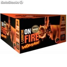 Gold Nutrition L-Carnitina OnFire Woman 15 viales x 12 ml