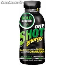 Gold Nutrition One Shot Energy 20 botellitas x 60 ml