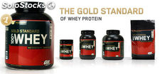 Gold standard 100% whey - vanilla ice cream (5 pound powder)