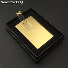 goldene Karte USB-stick Metall-Karte USB