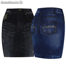 Gonne Tipo Jeans Rif. 0184