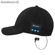 Gorra Americana Auriculares con Bluetooth wireless Logo