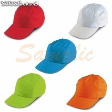 Gorra de beisbol para ninõs simple visera a color ref 99456 stricker