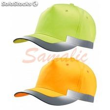Gorra fluorescente ref. KP123 k-up