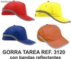 gorra laboral con reflectantes