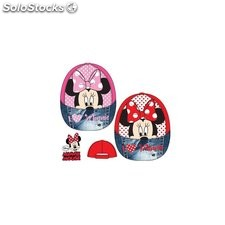 Gorra minnie mouse love talla 52 rojo