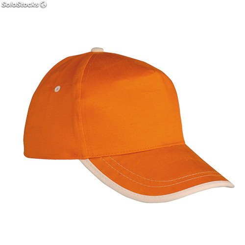 Gorra naranja/natural usa