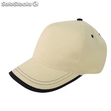 Gorra natural/marino usa