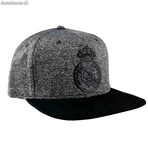 b03363bcde8bf Gorra plana Real Madrid Gris