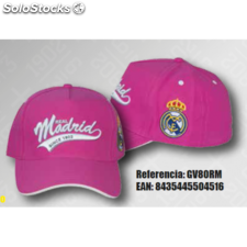 Gorra Real Madrid Rosa Adulto