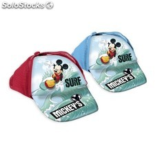 Gorra rejilla mickey surf rojo - idealcasa kids - mickey - BY02099860926_DESKIT