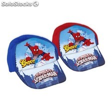 Gorra tela spiderman GO spidey azul - idealcasa kids - marvel -