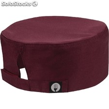 Gorro cocina colour by chef works cool vent beanie merlot