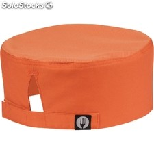 Gorro cocina colour by chef works cool vent beanie naranja