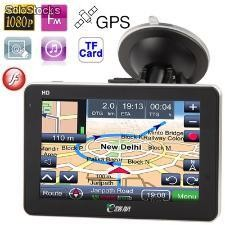 Gps 5.0 Dull Hd 1080 Touch Com Radar Bluetooth Transmissor f
