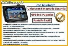 "Gps Pantalla 5"" Tactil, Video,Musica, Navegacion Satelital"