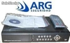 Grabador Digital 8 Videos 8 Audios 200 ips Acceso Web 3g cctv ARGseguridad