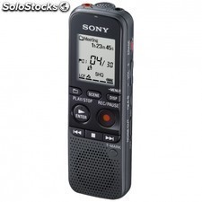 Grabadora de voz digital SONY icd-px333 4gb memoria flash LCD USB / m2/