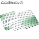 Grade 18/10 stainless steel perforated false bottoms for gastronorm - 4/5 cm