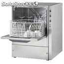 Grade aisi 304 18/10 stainless steel glasswasher - mod. cl36 - max height