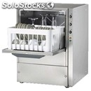 Grade aisi 304 18/10 stainless steel glasswasher - mod. cl40 - max height