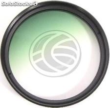 Gradual color photography green filter lens of 52 mm (EG62)
