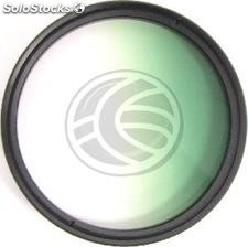 Gradual color photography green filter lens of 62 mm (EG64)
