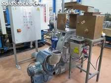 Grain manufacture, Bausano brand, MD90. 4 engines of 25 hp, 2 spindles of 90,