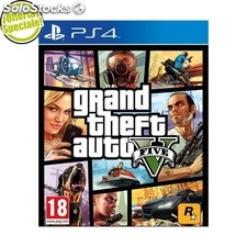 Grand Theft Auto v PS4 import europa