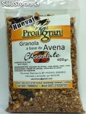 Granola a Base de avena, Chocolate x 400 g