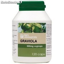 Graviola 500mg 120 Capsulas rio amazon