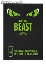Green Beast - The new Energy Drink