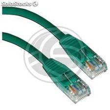 Green Cat 5e utp cable 25cm (RL21)