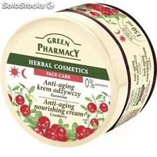 Green pharmacy Anti - aging nourishing cream - Cranberry