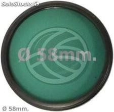 Green photography lens filter 58 mm (EF04)