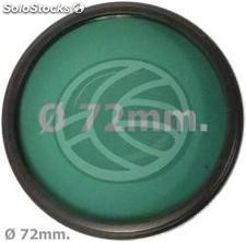 Green photography lens filter 72 mm (EF07)