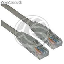 Grey Cat 5e utp cable 25cm (RL51)