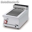 Grill top contact-mod. cwkt/74et-direct cooking on stainless steel-three