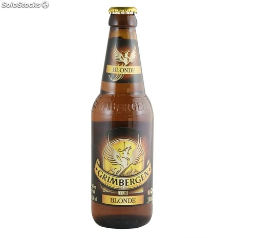 Grimbergen Blonde botella 330 ml.