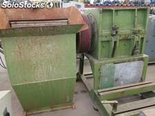 Grinder Prat, type P-6, with open rotor, inclined cut.