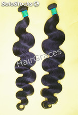 Grossiste cheveux vierge peruvien gamme 7A 75cm ondule curly