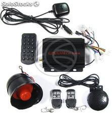 GSM car alarm with speaker phone and GPS location (LA93)