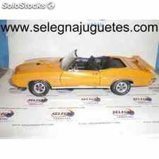 Gto judge convertible 1970 1/24 gmp coche metal miniatura