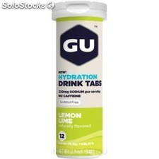 GU Energy Brew Electrolyte - Hydration Drink Tabs 1 tubo x 12 tabletas