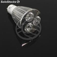 GU10 led Bulb 6W 230VAC 45 ° 50mm warm light (NC62)