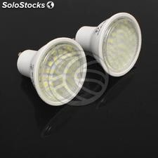 GU10 smd led Bulb 3.5W 230VAC warm light 120 ° 50mm 2x1 (NC52)
