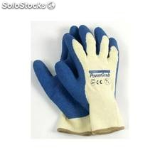Guante Construccion M08 Powergrab Latex Azul Juba
