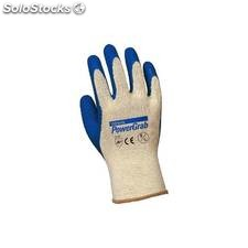 Guante Construccion S07 Powergrab Latex Azul Juba