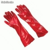 Guante pvc acid top 18'' b