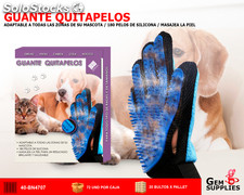 Guante Quitapelos Cepillo Mascotas We Houseware